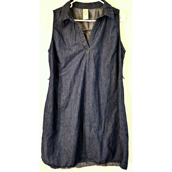 dc34a1bdbaf1bd Dresses   Skirts - plus size faded glory denim dress sz  16 18